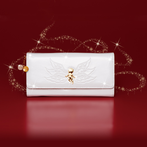 水晶院の天使が舞うミリオンエンジェルという財布